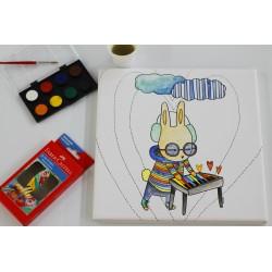 Cuadro para colorear 25x25 / FOCU Paint