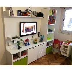 Habitación con Placa TV
