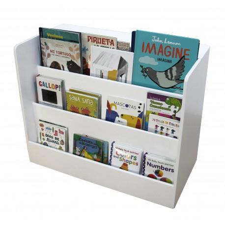Librero rodante con acrilicos