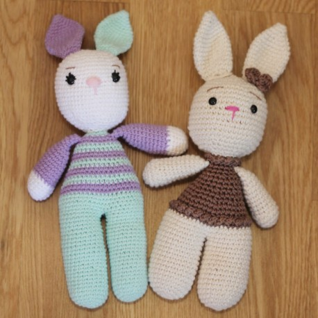 Muñeco de Apego Conejo