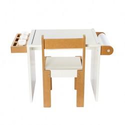 Conjunto mesita de dibujo + 1 silla