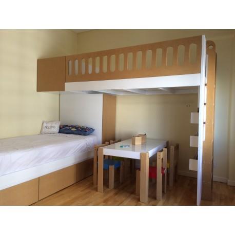 Habitación cama puente
